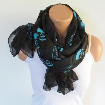Skull Scarf-beach Pareo-in..